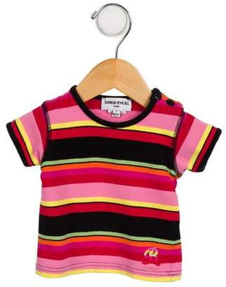 Sonia Rykiel Girls' Printed Short Sleeve Top