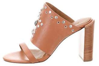See by Chloe Studded Leather Mules