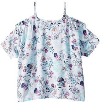 Splendid Littles Cold Shoulder Top Girl's Clothing