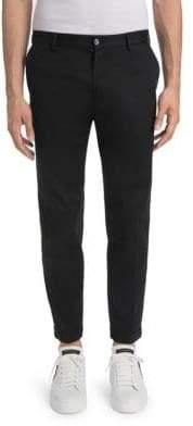 Dolce & Gabbana Leopard Racing Stripe Trousers