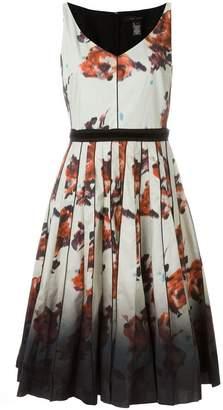 Marc Jacobs floral degradé print dress