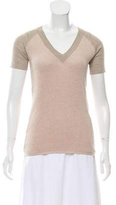 Reed Krakoff Rib Knit Top