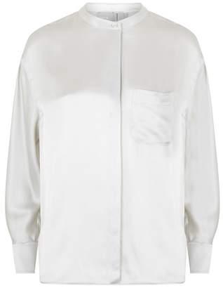 1f68953b77338 Vince Silk Blouse - ShopStyle UK