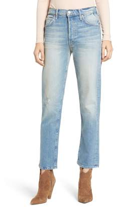 Mother The Tomcat Ankle Straight Leg Jeans