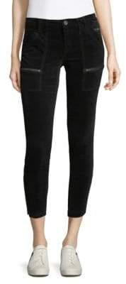 Joie Park Velvet Skinny Pants