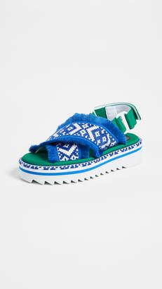 Suecomma Bonnie Ethnic Platform Sandals