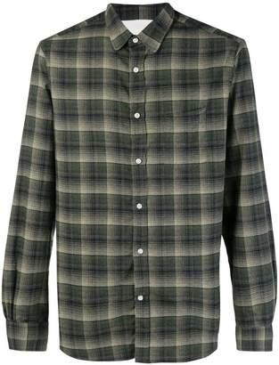 Officine Generale check flannel shirt