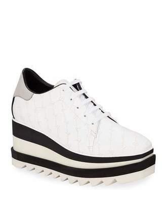 Stella McCartney Sneakelyse Lace-Up Platform Sneakers
