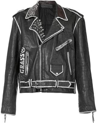 Enfants Riches Deprimes Subhumans biker jacket