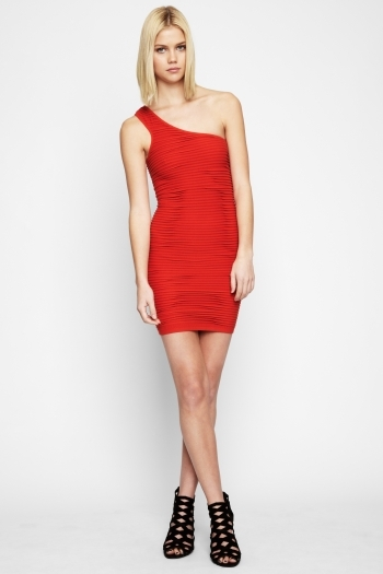 Bcbgeneration One-Shoulder Tube Dress