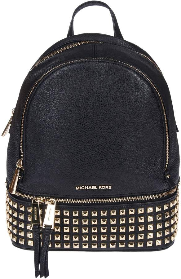 Michael Kors Michael Rhea Studded Backpack - ORO - STYLE
