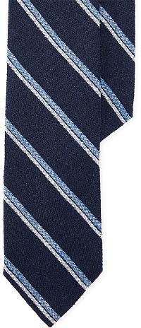 Polo Ralph LaurenPolo Ralph Lauren Striped Silk-Blend Narrow Tie