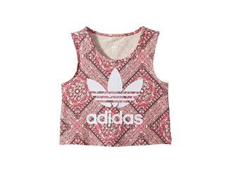 adidas Kids Stained Glass Graphic Print Tank Top (Little Kids/Big Kids)