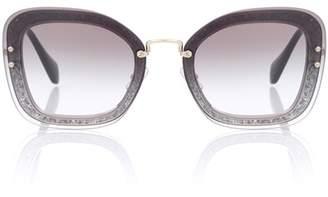 Miu Miu Square sunglasses