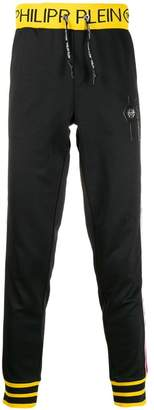 logo waistband track pants
