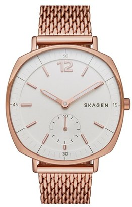 Skagen 'Rungsted' Mesh Strap Watch, 34mm $205 thestylecure.com