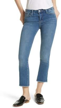 Free People High Waist Crop Straight Leg Jeans