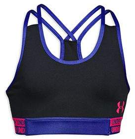 Under Armour Girls' HeatGear® Sports Bra - Big Kid