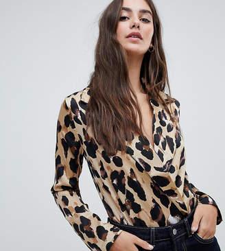 Parisian Tall leopard print body