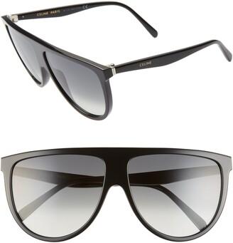 85e8fd8e2d Celine 62mm Oversize Flat Top Sunglasses