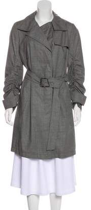 Akris Wool Trench Coat