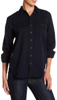 Lucky Brand Studded Boyfriend Shirt