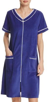 Eileen West Short Zip Robe $64 thestylecure.com