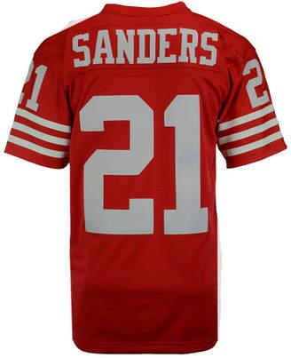 Mitchell & Ness Men Deion Sanders San Francisco 49ers Replica Throwback Jersey