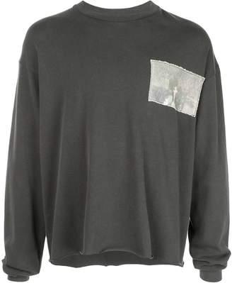 Enfants Riches Deprimes contrasting patch sweatshirt