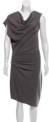 Helmut Lang Sleeveless Wool Dress