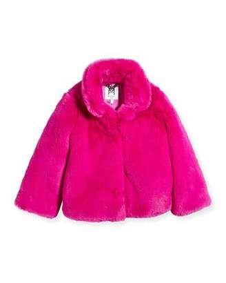 Milly Minis Faux-Fur Jacket, Size 8-14