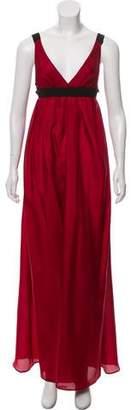I.D. Sarrieri Silk Maxi Dress w/ Tags