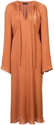 Voz bell sleeve dress