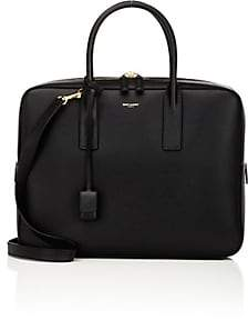 Saint Laurent Men's Classic Museum Small Briefcase-Black