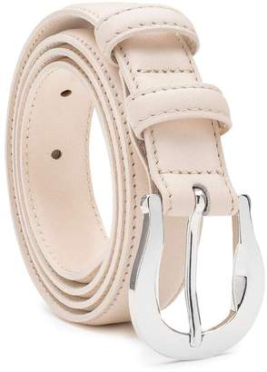 Dalgado - Handmade Leather Belt Nude Alessia