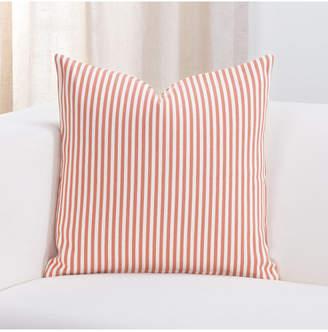 "Everlast Revolution Plus Stripe Apricot 20"" Designer Throw Pillow"