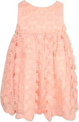 Popatu Flower Applique Dress