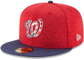 New Era Boys' Washington Nationals Stars & Stripes 59FIFTY Cap
