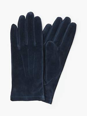 John Lewis & Partners Suede Gloves