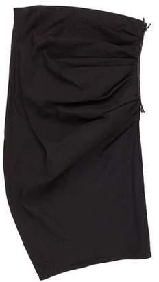 Lanvin Strapless Bodycon Dress