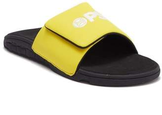 PSD The Basic Yellow Slide Sandal