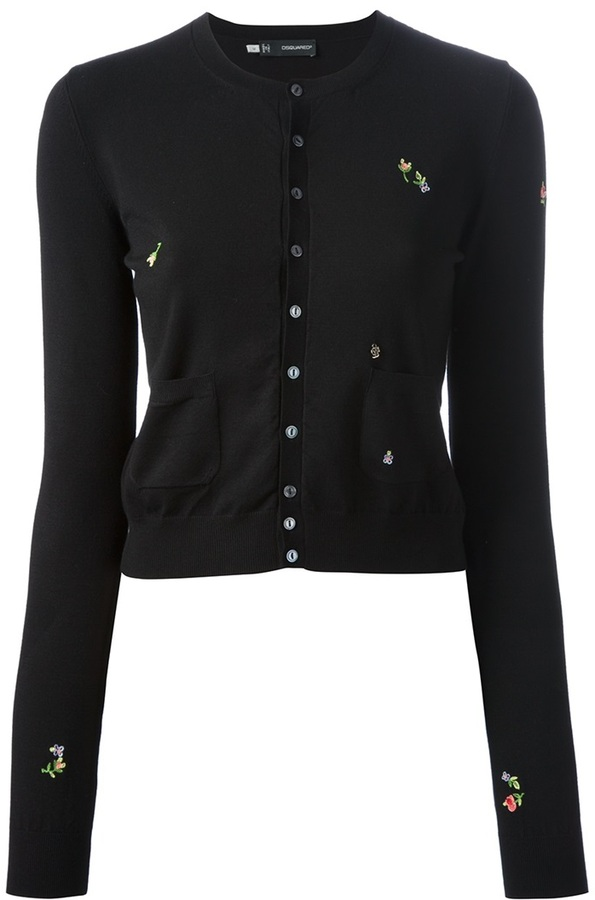 DSquared DSQUARED2 embroidered cardigan
