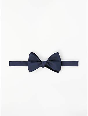 b746e21007b6 John Lewis & Partners Silk Twill Self Tie Bow Tie, ...