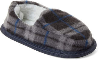 9f8795ea0 Capelli New York (Toddler Boys) Navy Plaid Moccasin Slippers