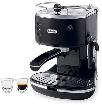 De'Longhi Delonghi Icona Three-Piece 15-Bar Pump Driven Espresso/Cappuccino Maker & Espresso Glass Set