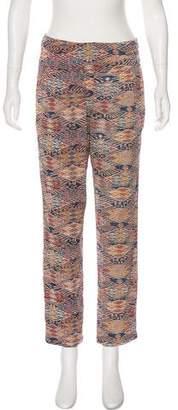 IRO Silk Printed Pants