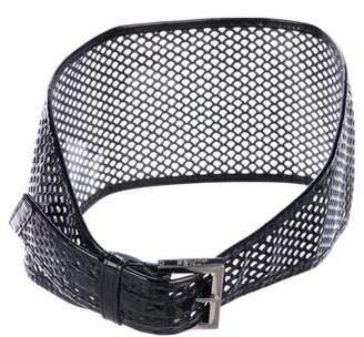 Fendi Cutout Waist Belt