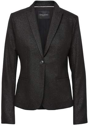 Banana Republic Petite Classic-Fit Metallic Blazer