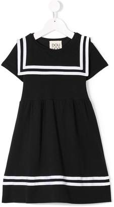 Douuod Kids short-sleeve sailor dress