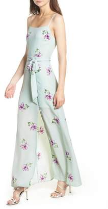 Socialite Tie Waist Maxi Dress